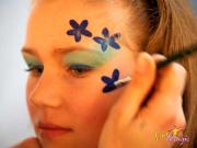 bloemen penseel
