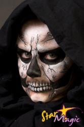 schmink schedelbreuken skelet