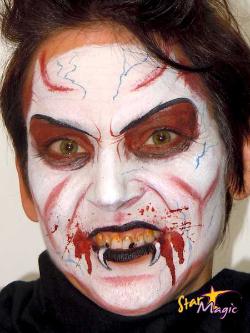 vampier schmink